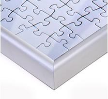 Puzzle-rámik pre fotopuzzle, Detail rohu