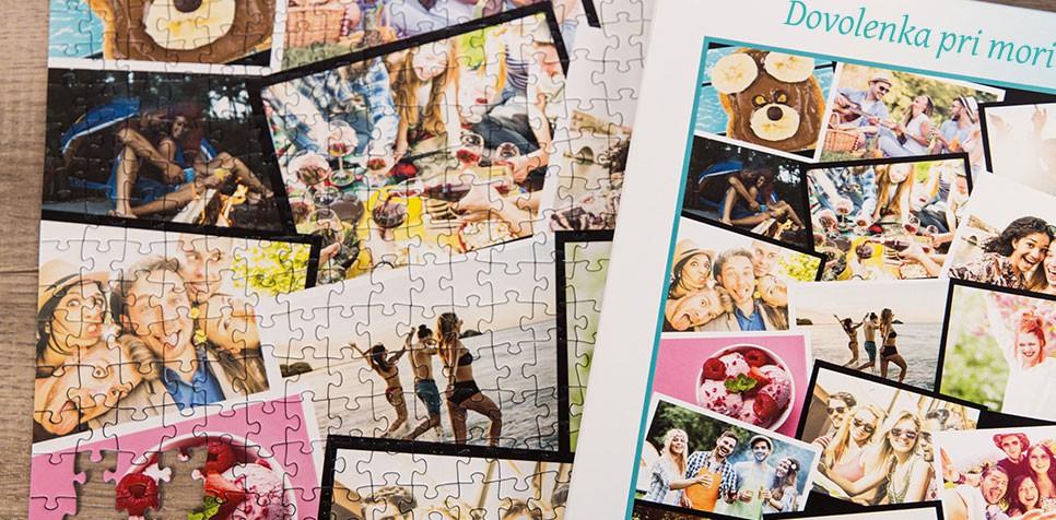 Puzzle z fotky ako koláž v štýle Prekrývajúcich sa fotografií