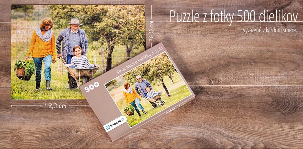 500-dielkové puzzle z fotky