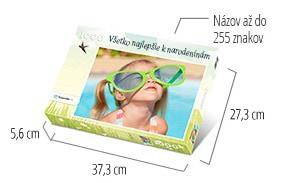 Veľkosť škatuľky pre puzzle  -  fotopuzzle s 1000 dielikmi