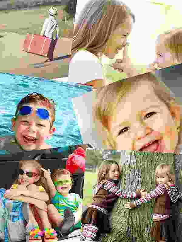 Prekrývajúce sa fotky – Koláž na puzzle z fotky 6 fotiek
