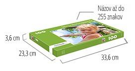 Veľkosť škatuľky pre puzzle  -  puzzle z fotky so 100 dielikmi