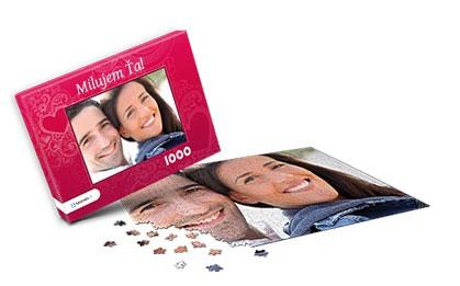 Nápad na darček  -  puzzle z fotky