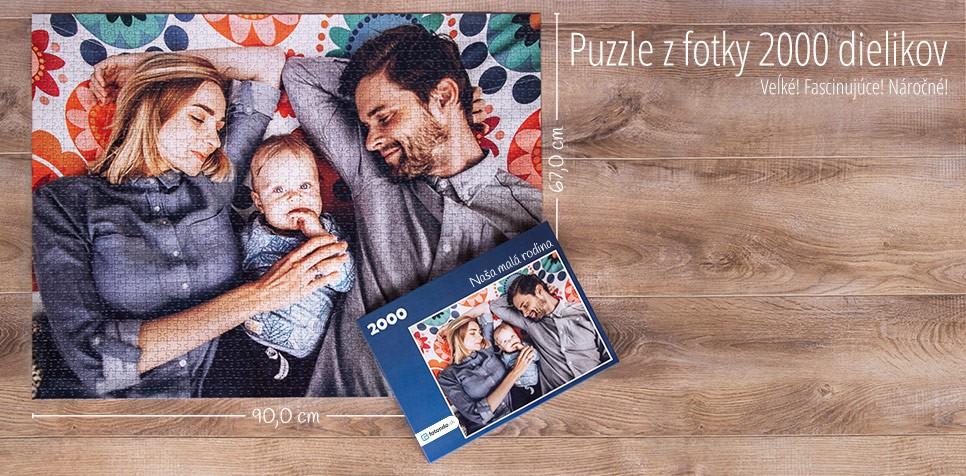 2000 dielikov puzzle z fotky