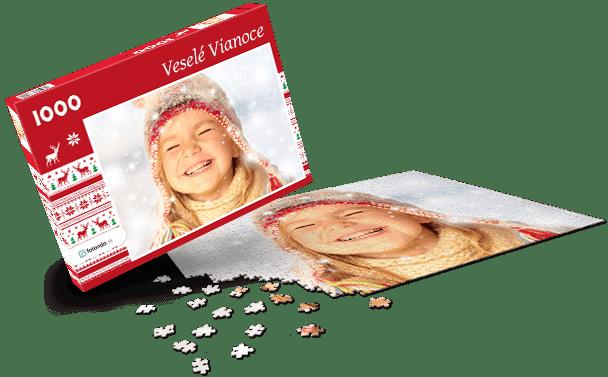 Krabička na puzzle  -  Vánoce IV