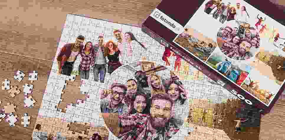 Puzzle z fotky ako koláž v Umeleckom štýle