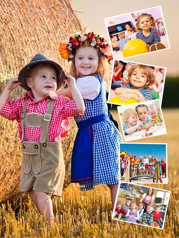 Vlastné pozadie – Koláž na puzzle z fotky 6 fotiek