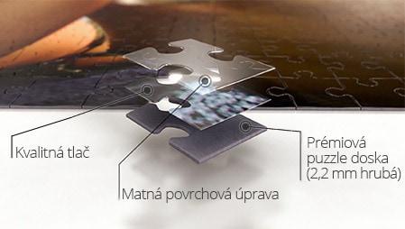 Kvalita puzzle z fotky