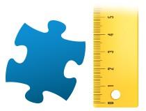 Pomer dielika puzzle fotopuzzle 100 dielikov