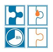 Lepidlo na puzzle  -  Návod na použitie