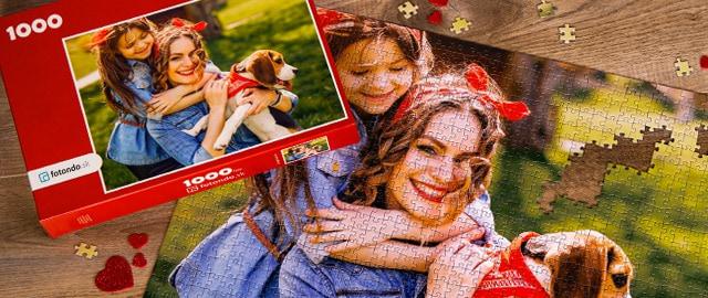 Vytvorte si svoje osobné fotopuzzle
