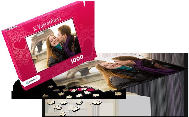 Krabička na puzzle  -  Láska I