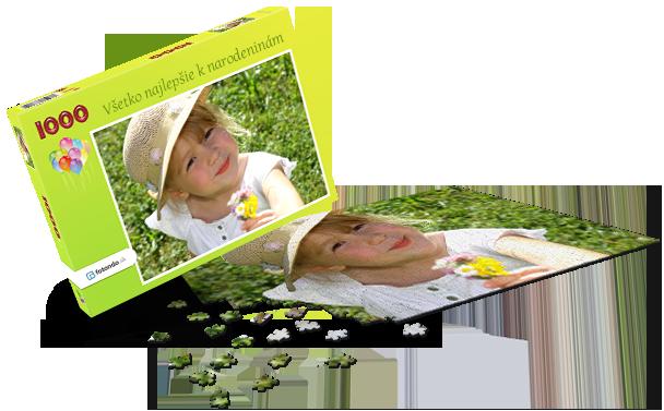 Krabička na puzzle  -  Dětské narozeniny