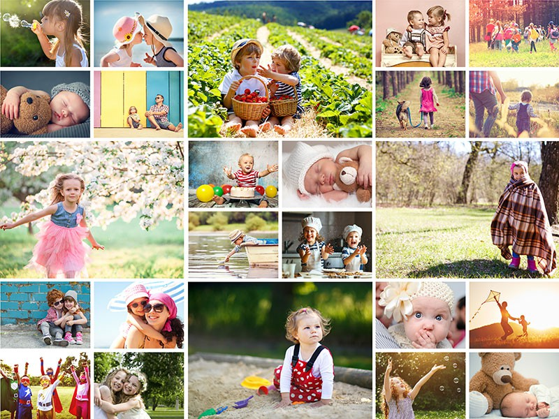 Jednoduchý štýl – Koláž na puzzle z fotky 24 fotiek