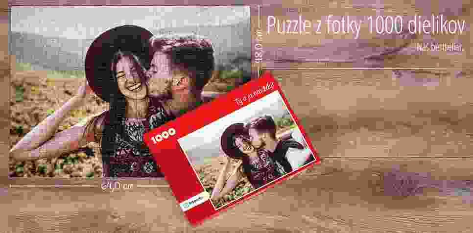 1000-dielikové puzzle z fotky