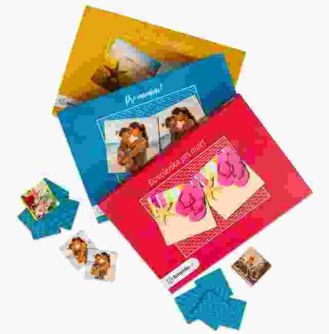 Farby škatuľky na pexeso